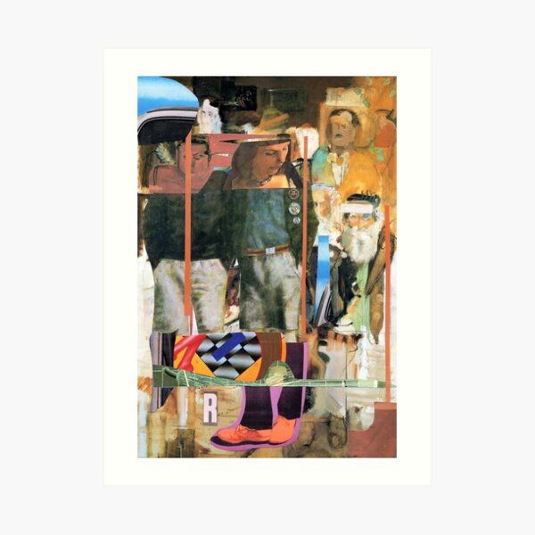 Pop Peter Blake 2. Art Print