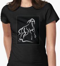 Horse white runner T-Shirt