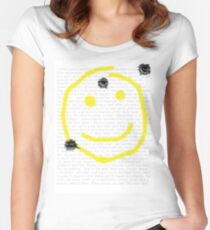Smile for me Sherlock? Women's Fitted Scoop T-Shirt