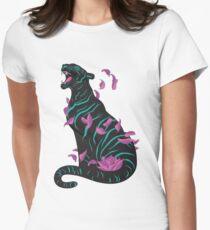 Camiseta entallada Tigre negro