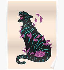 Black tiger Poster