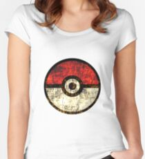 Pokéball Women's Fitted Scoop T-Shirt