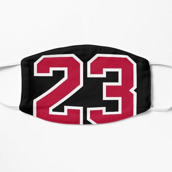 Michael Jordan Bulls 23 - Negro Mascarilla plana
