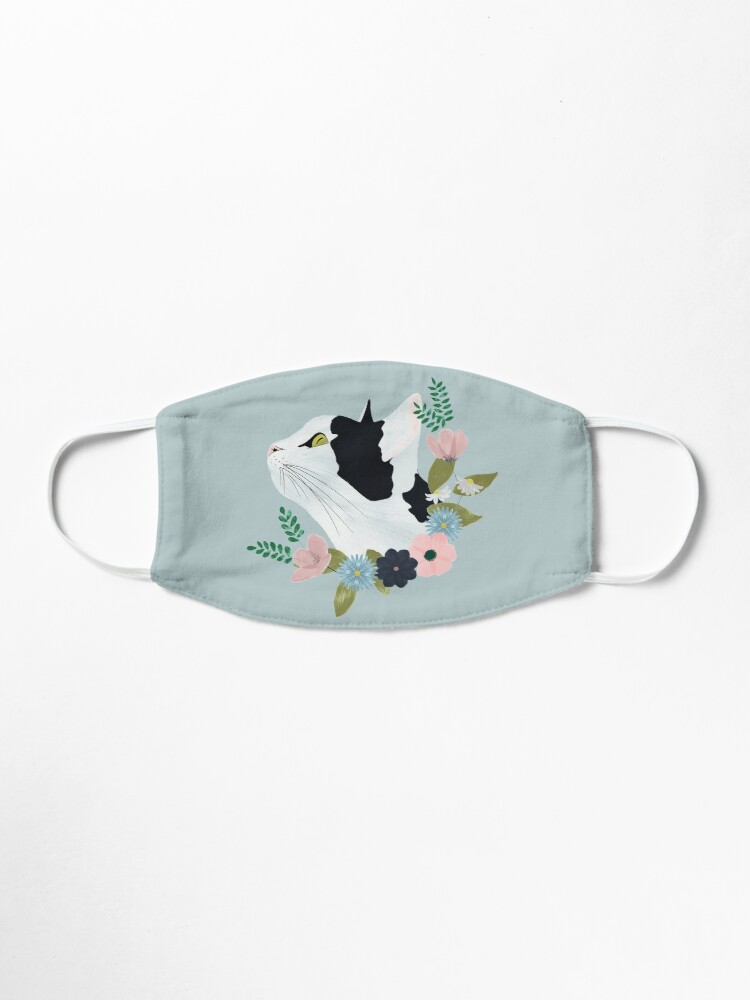 Alternate view of Floral Cat Mask