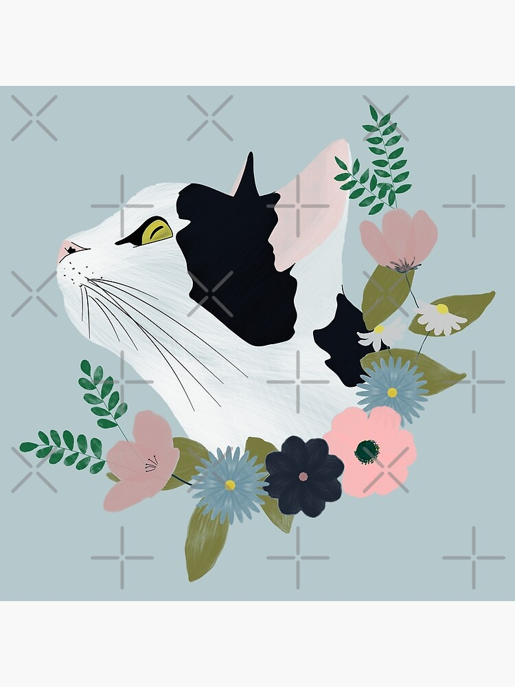 Floral Cat by kmg-design