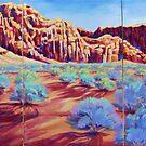 Divine Backdrop Kayenta by jdbuckleyart