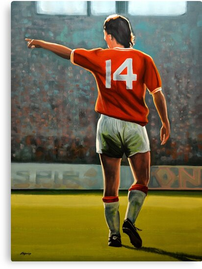 Johan Cruyff Oranje nr 14 by PaulMeijering