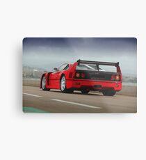 Ferrari F40 LM Michelotto Metal Print