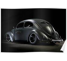 Volkswagen Beetle 1954 Top Chop Poster