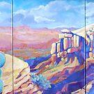 Prickley Pear Plateau by jdbuckleyart