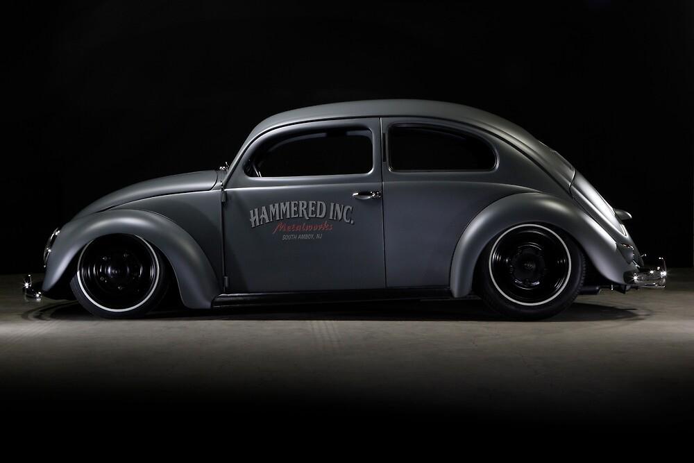 Quot Volkswagen Beetle 1954 Top Chop Quot By Stefan Bau Redbubble