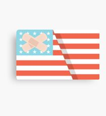 Ouchmerica  Canvas Print