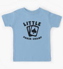 Little Poker Champ Kids Tee