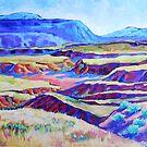 Plateaus in the Spring by jdbuckleyart