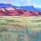 Red Rock Triptych by jdbuckleyart