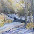 Snow Banks by jdbuckleyart