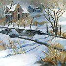 Snow Fluries by jdbuckleyart