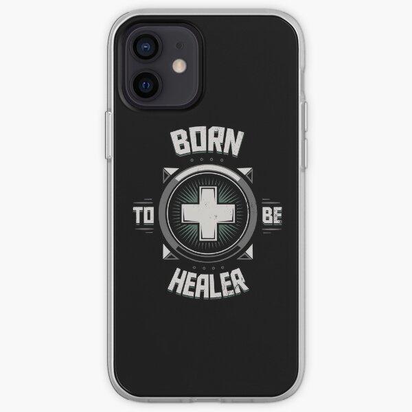 Geboren, um Heiler zu sein iPhone Flexible Hülle