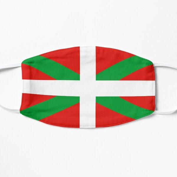 Flag of the Basque Country Masque sans plis