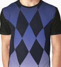 The Magnificent Flying Blue Diamonds Graphic T-Shirt