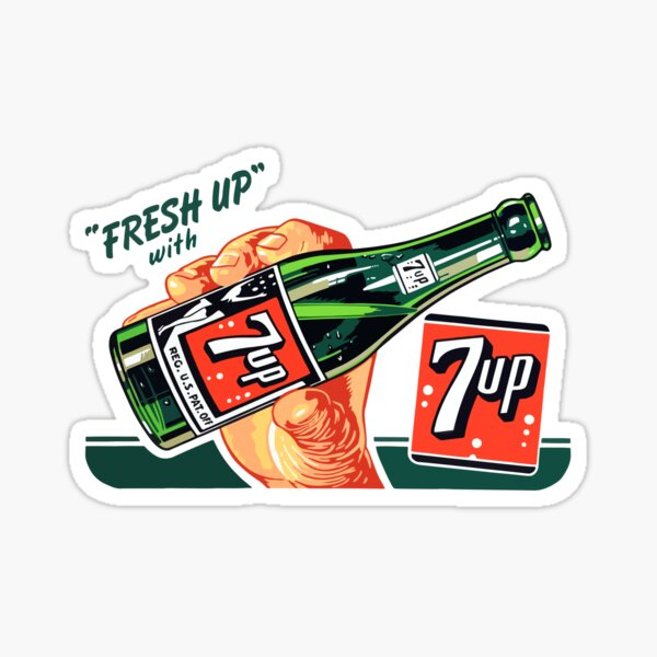 7 UP 8 Sticker