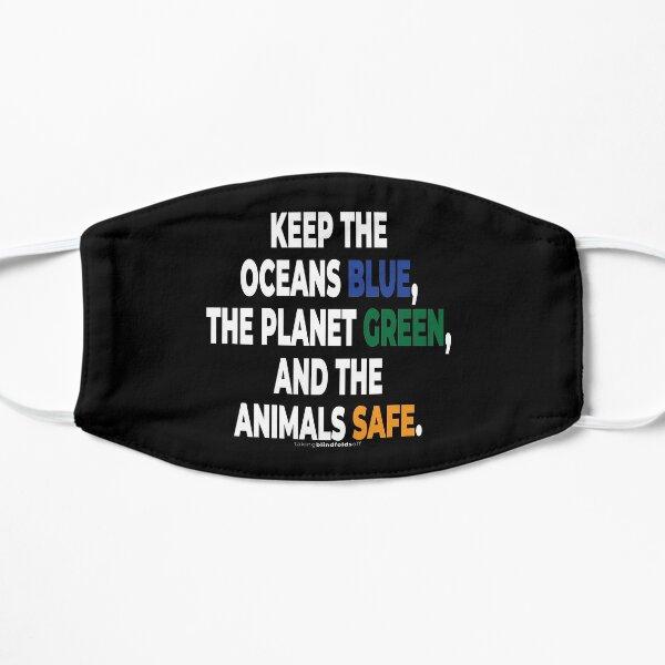 Klimaaktivist Grafiken #takingblindfoldsoff 65 Flache Maske