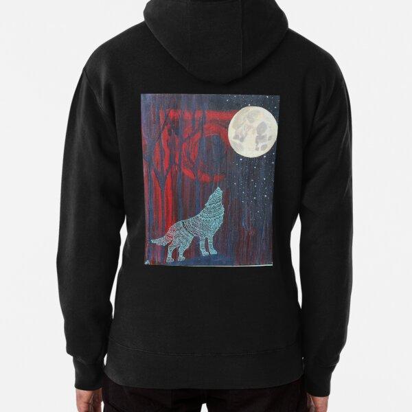 Wolf Moon Pullover Hoodie