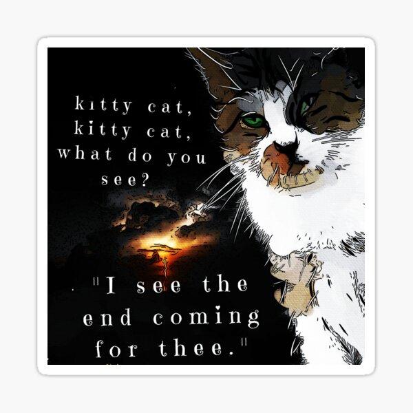 Meow, Meow Sticker