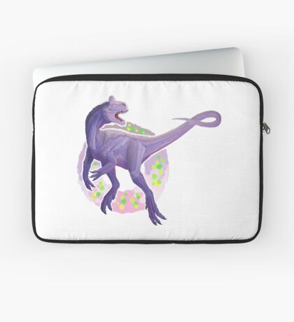 Cryolophosaurus (without text)  Laptop Sleeve