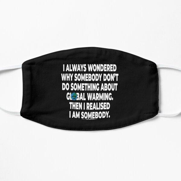 Klimaaktivist Grafiken #takingblindfoldsoff 66 Flache Maske