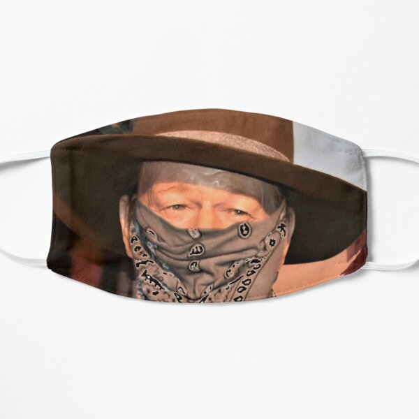 """Wear a Mask Pilgrim"" Flat Mask"