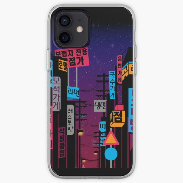 Streets of Korea iPhone Soft Case