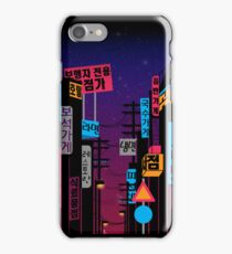 Streets of Korea iPhone Case/Skin