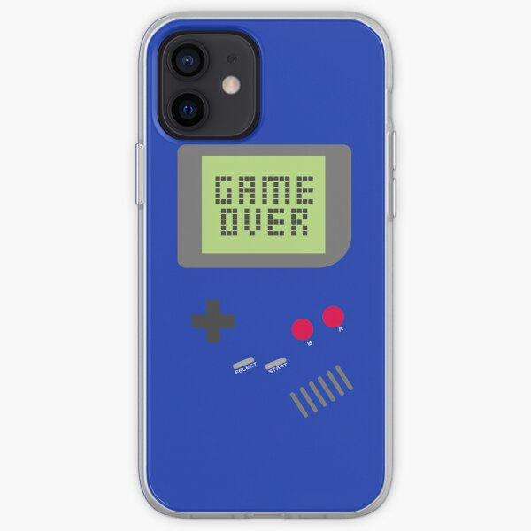 Game Over - Blue iPhone Soft Case