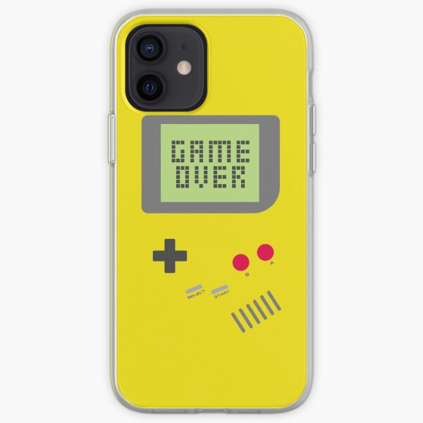 Game Over - Yellow iPhone Soft Case