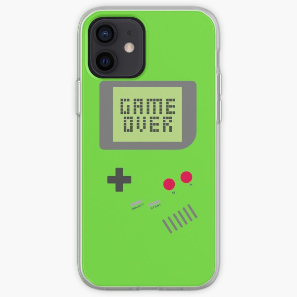 Game Over - Green iPhone Soft Case