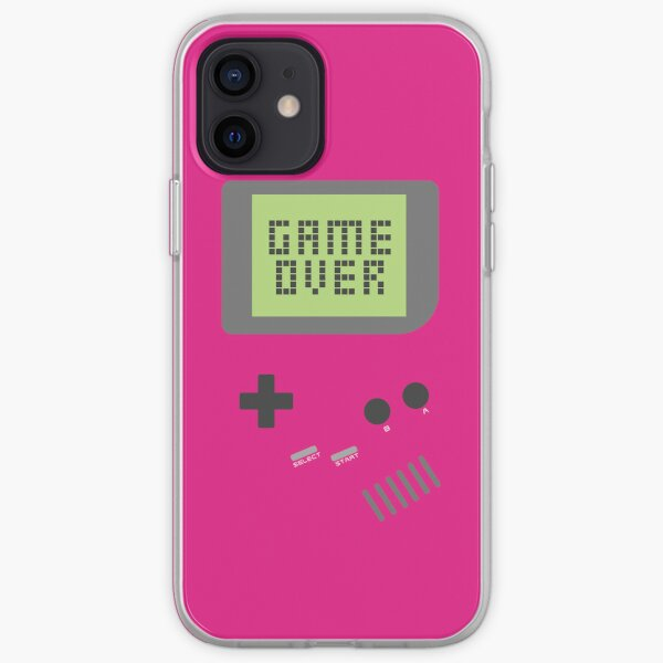 Game Over - Pink iPhone Soft Case