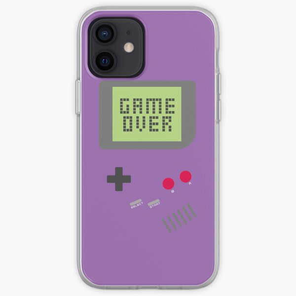 Game Over - Purple iPhone Soft Case