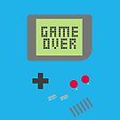 Game Over - Teal by fyzzed