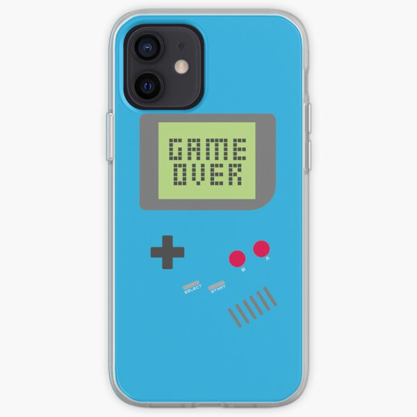 Game Over - Teal iPhone Soft Case