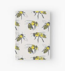 Bees Hardcover Journal