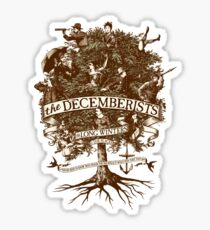 The Decemberists: Tree Design Sticker