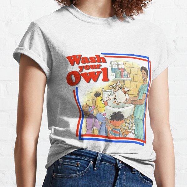 Owl Washing Time! Classic T-Shirt
