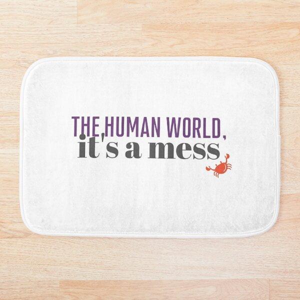 The Human World Bath Mat