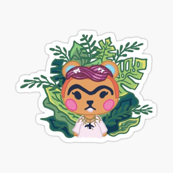 Hazel Frida Kahlo Sticker
