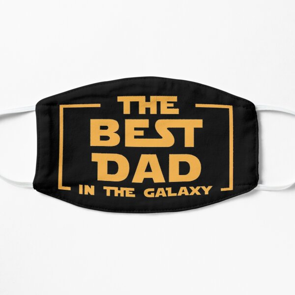 THE BEST DAD IN THE GALAXY - Unisex Shirt - Flat Mask
