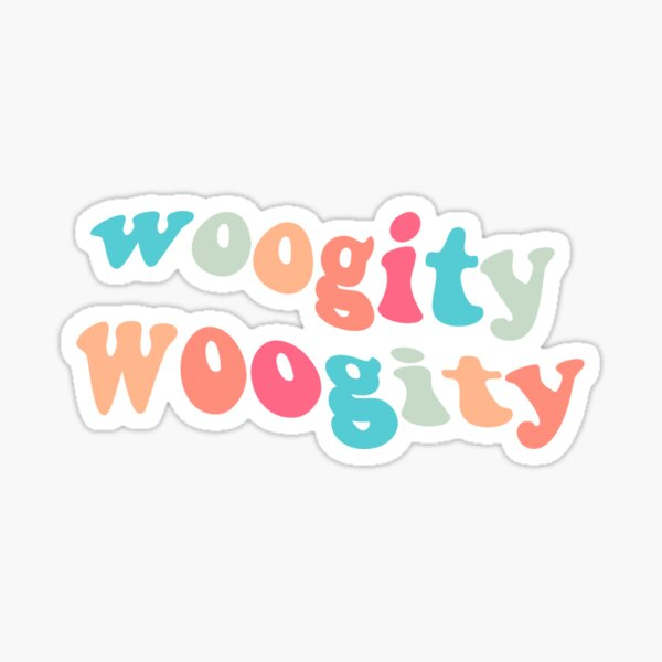 outer banks woogity woogity sticker Sticker