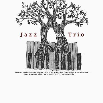 Tetsuro Hoshii Jazz Piano Trio at Lily Pad on August 26th by tetsurohoshii