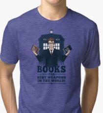Books Tri-blend T-Shirt