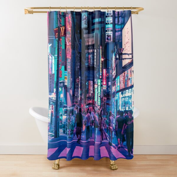 Daydreaming of Tokyo Shower Curtain
